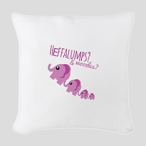 Heffalumps? Woven Throw Pillow