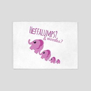 Heffalumps? 5'x7'Area Rug
