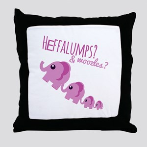 Heffalumps? Throw Pillow