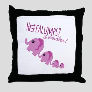 Heffalumps? Throw Pillow