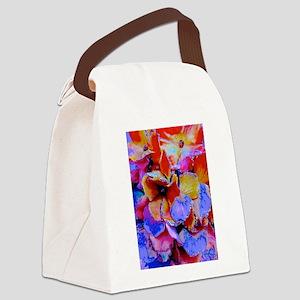Color Explosion Canvas Lunch Bag