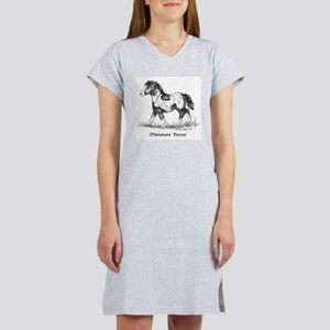 Miniature Horse Women's Nightshirt