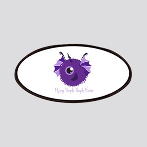 Flying Purple People Eater Patches