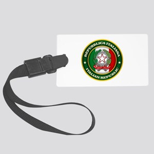 Italy Medallion Luggage Tag