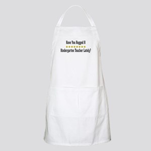 Hugged Kindergarten Teacher BBQ Apron