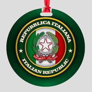 Italy Medallion Ornament