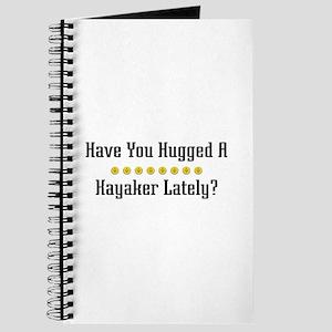 Hugged Kayaker Journal