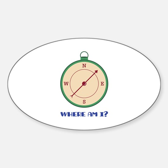 Where Am I? Decal