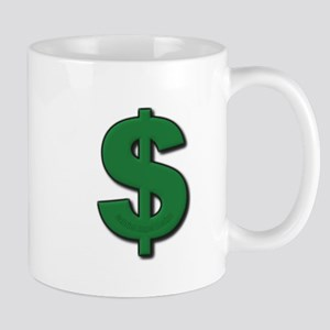Green Dollar Sign Mug