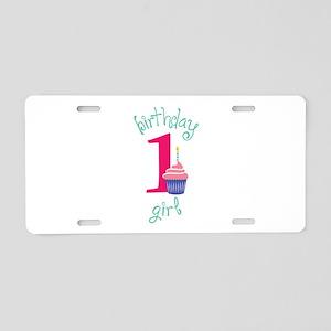 Birthday Girl Aluminum License Plate