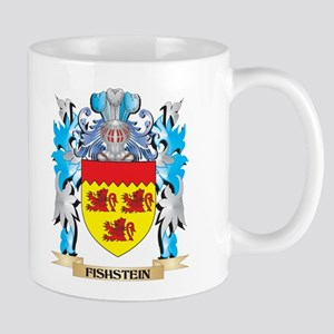 Fishstein Coat of Arms - Family Crest Mugs