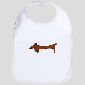 Weiner Dog Bib