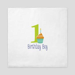 Birthday Boy Queen Duvet