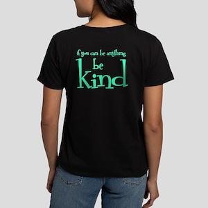 BE KIND (2-sided) Women's Dark T-Shirt