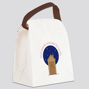 Be A Sweetle And Wipe The Seatle Canvas Lunch Bag
