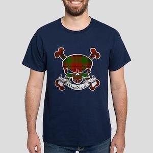MacNicol Tartan Skull Dark T-Shirt