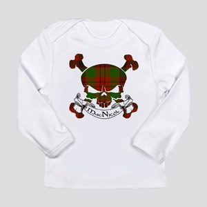 MacNicol Tartan Skull Long Sleeve Infant T-Shirt