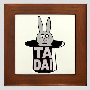 Ta Da! Framed Tile