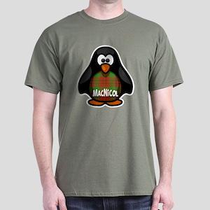 MacNicol Tartan Penguin Dark T-Shirt