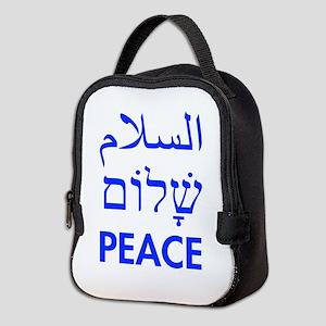 Peace Neoprene Lunch Bag