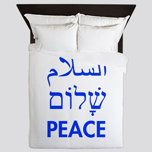 Peace Queen Duvet