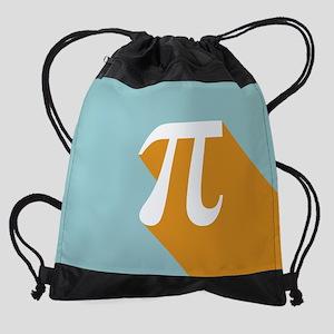 Vibrant Pi Drawstring Bag