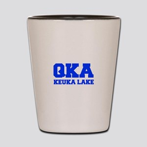 QKA Keuka Lake Shot Glass