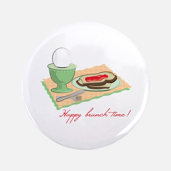 "Happy Brunch Time 3.5"" Button"
