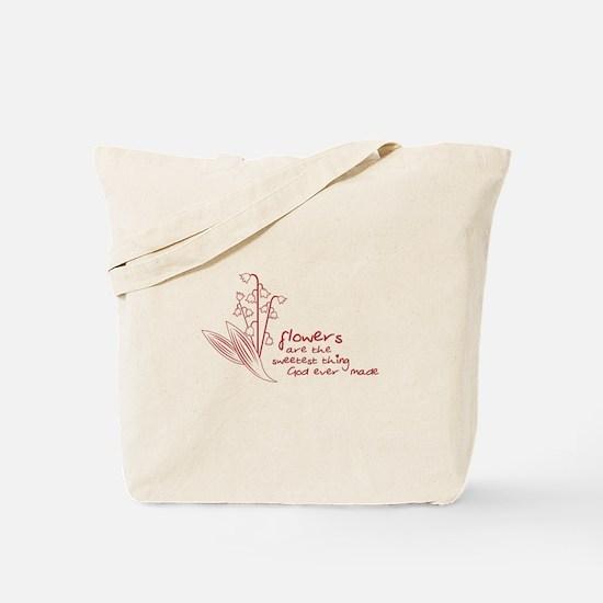 Sweet Flowers Tote Bag