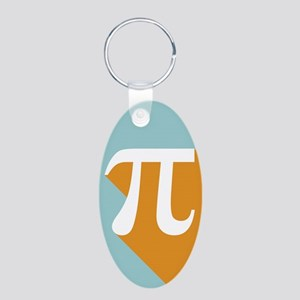 Vibrant Pi Keychains