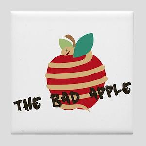 Bad Apple Tile Coaster