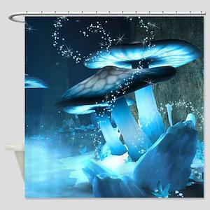 Ice Fairytale World Shower Curtain
