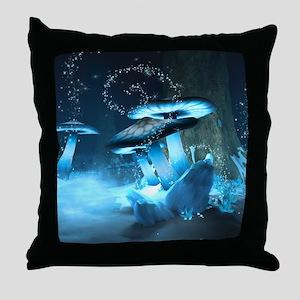 Ice Fairytale World Throw Pillow