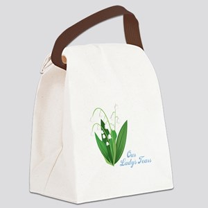 Our Ladys Tears Canvas Lunch Bag