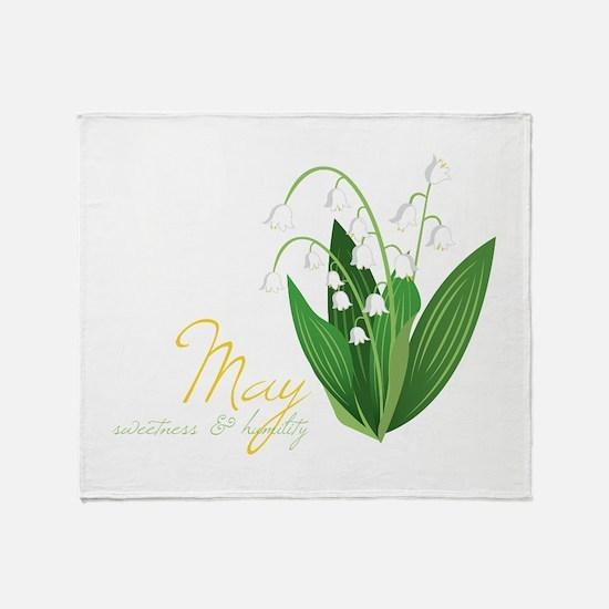 Sweetness & Humility Throw Blanket