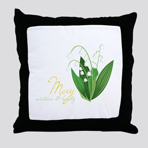 Sweetness & Humility Throw Pillow