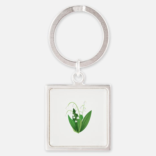 Lily Of The Valley Keychains