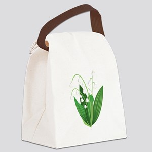 Lily Of The Valley Canvas Lunch Bag