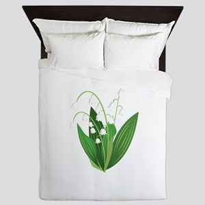 Lily Of The Valley Queen Duvet