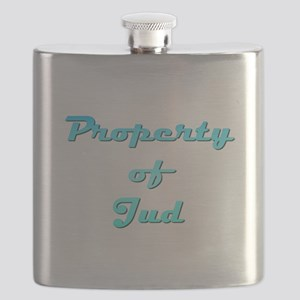 Property Of Jud Male Flask