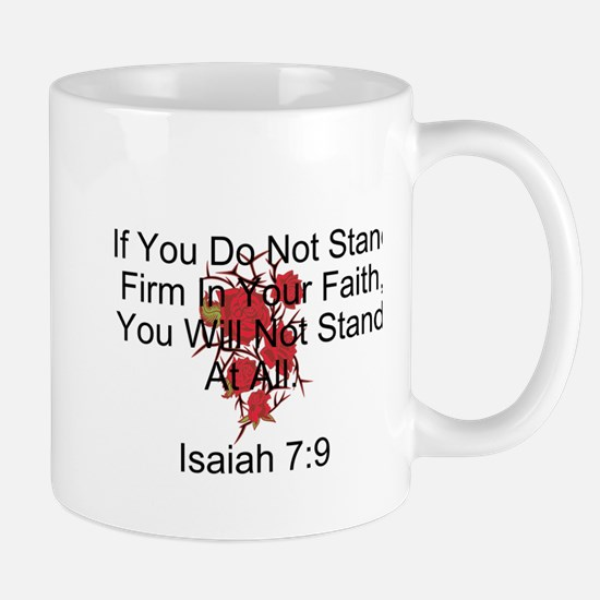 Stand Firm In Faith-Rose Mugs