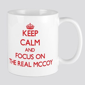 Keep Calm and focus on The Real Mccoy Mugs