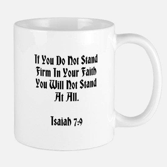 Stand In Faith Mugs