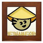 Vietnamegro Framed Tile