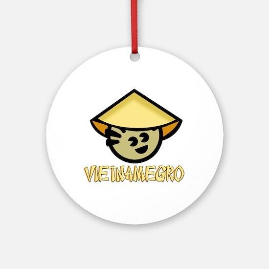 Vietnamegro Ornament (Round)