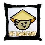 Vietnamegro Throw Pillow