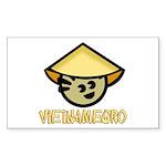 Vietnamegro Rectangle Sticker