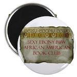 Sexy Ebony BBW AA Book Club Magnet (10 pk)