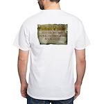 Sexy Ebony BBW AA Book Club White T-Shirt