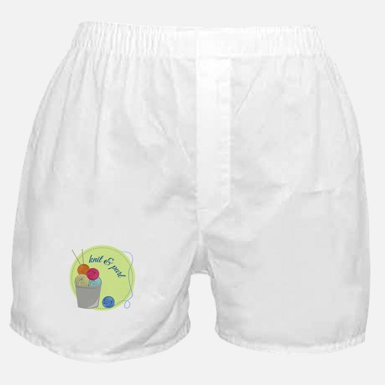 Knit & Pure Boxer Shorts